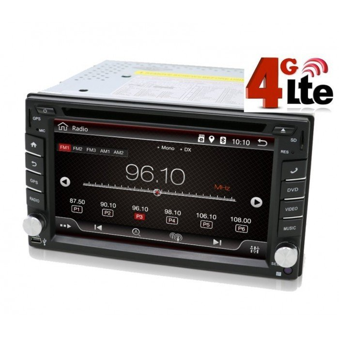 "Radio DVD GPS Universal Android 2 DIN (6,8"")"