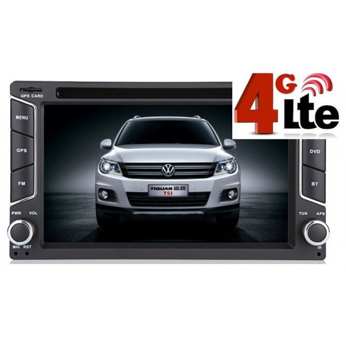 "Radio DVD GPS Universal Android 2 DIN con 4G LTE (6,8"")"