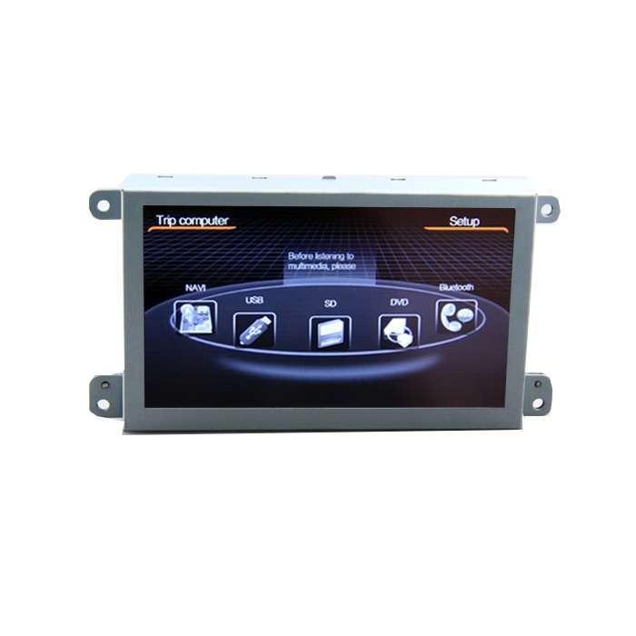 """Radio DVD Navegador GPS WinCE para Audi A6 / Q7 (7"""")"""