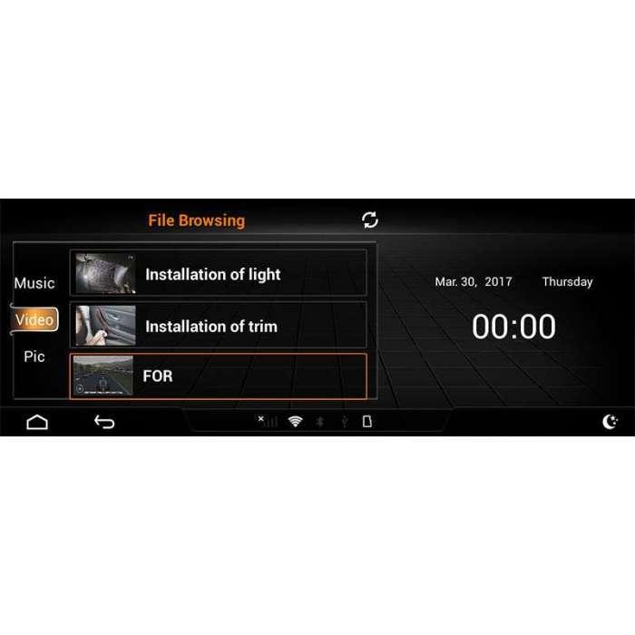 """Radio Navegador GPS Android para Audi A6 (8,8"""")"""