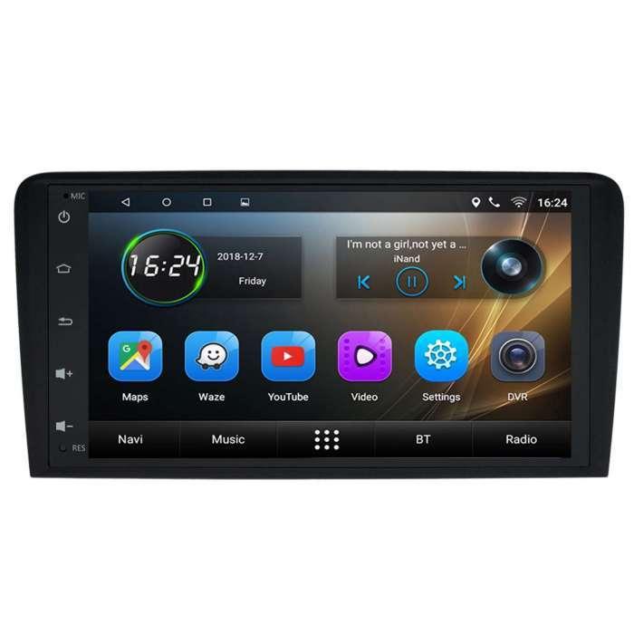 """Radio Navegador GPS Android para Audi A3 (8"""")"""