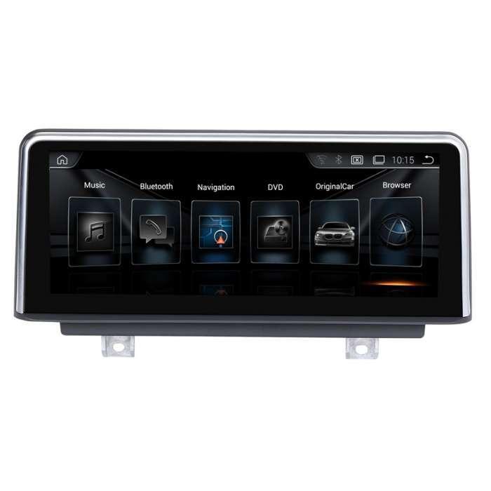 "Radio Navegador GPS Android para BMW Serie 4 (10,25"")"