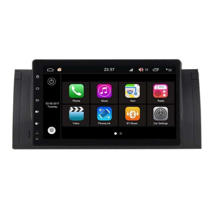 """Radio DVD Navegador Modelo S200 Android para BMW Serie 5 (9"""")"""