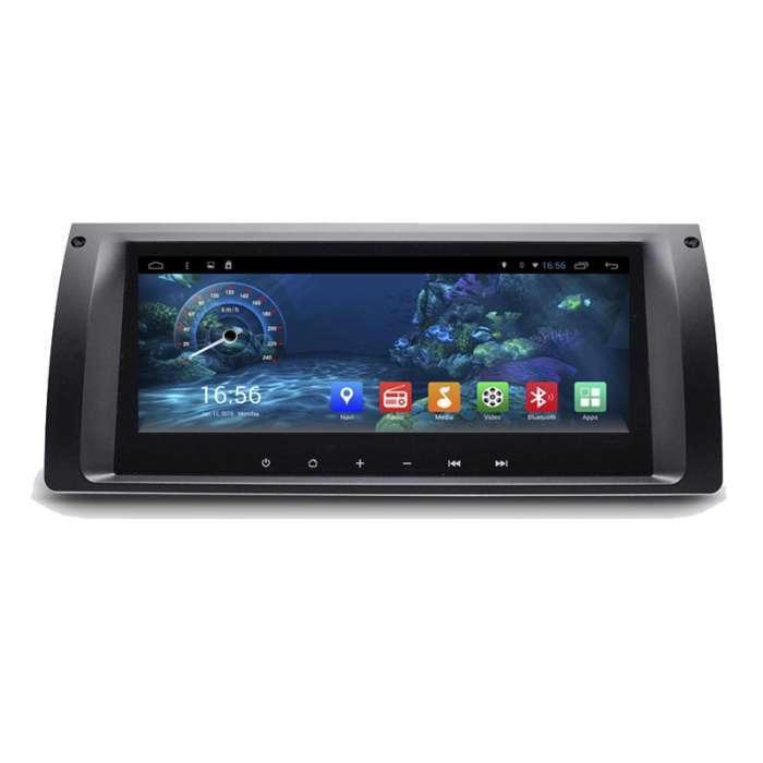 "Radio Navegador GPS Android para BMW Serie 5 / X5 (8,8"")"