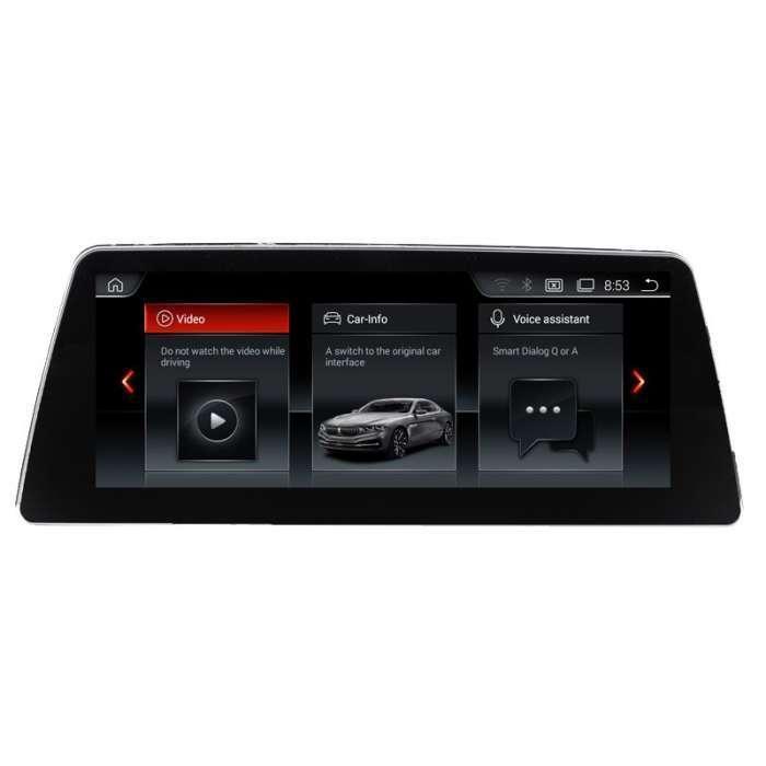 "Radio Navegador GPS Android para BMW Serie 5 (10,25"")"