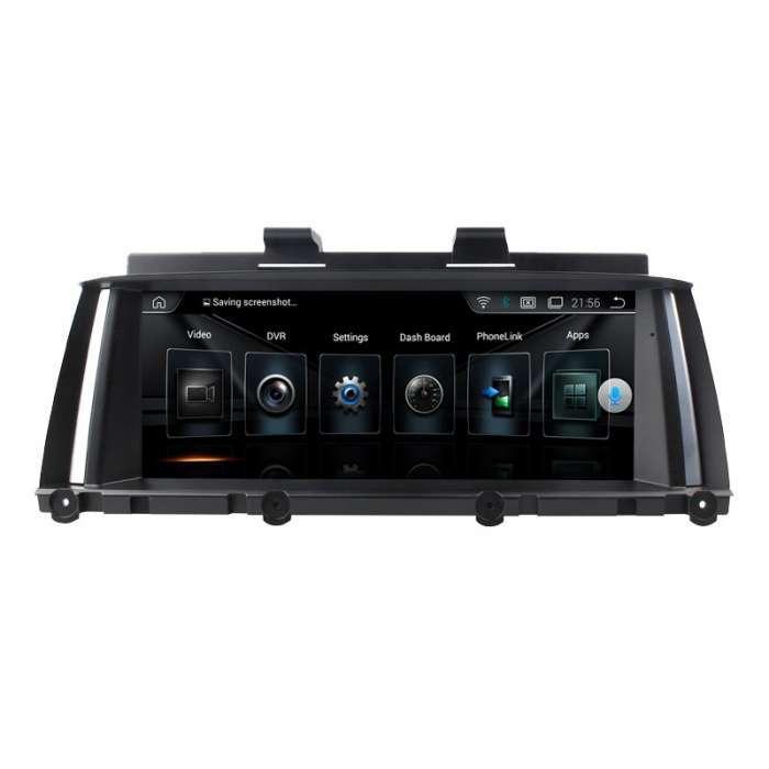 """Radio Navegador GPS Android para BMW X3 / X4 (9"""")"""