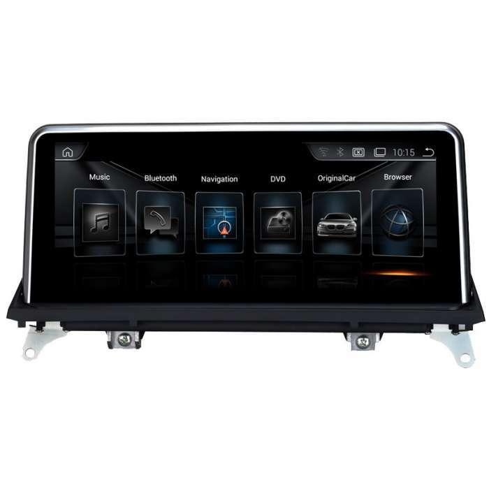 "Radio Navegador GPS Android para BMW Serie X5 / X6 (10,25"")"
