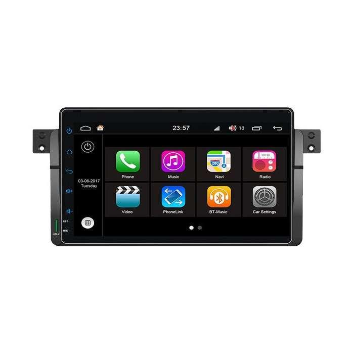 """Radio DVD Navegador Modelo S200 Android para BMW Serie 3 (9"""")"""