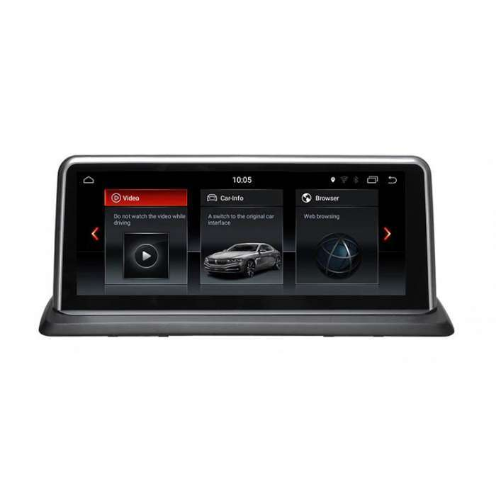 "Radio Navegador GPS Android para BMW Z4 (10,25"")"