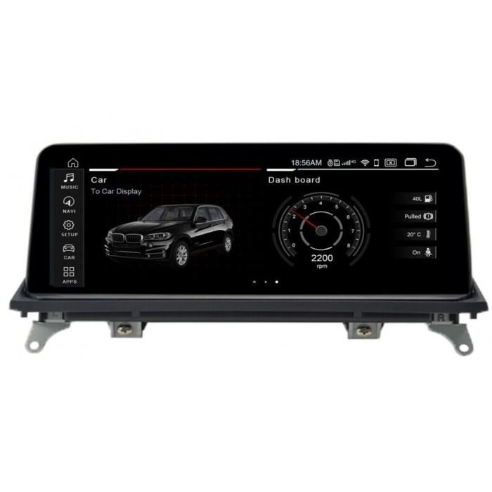 """Radio Navegador GPS Android para BMW X5 / X6 (12,3"""")"""