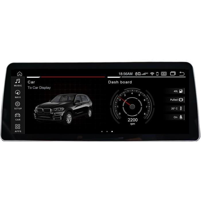 """Radio Navegador GPS Android para BMW X5 / X6 (12,35"""")"""