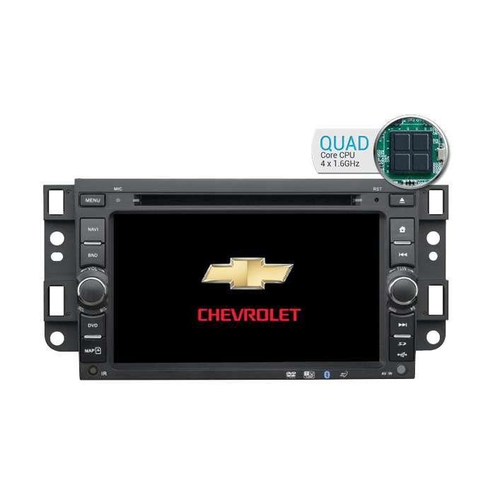"Radio DVD Navegador GPS Android para Chevrolet Aveo / Epica / Captiva (7"")"