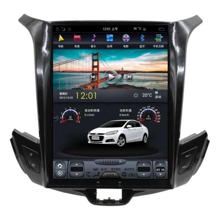 "Radio Navegador Android Tipo Tesla para Chevrolet Cruze (10,4"")"