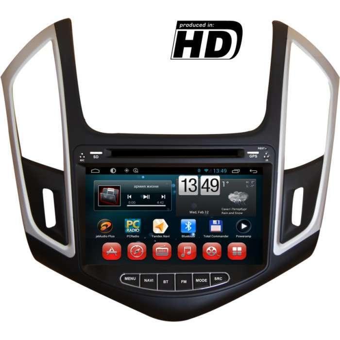 "Radio DVD Navegador GPS Android para Chevrolet Cruze (8"")"