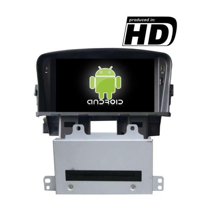 "Radio DVD Navegador GPS Android para Chevrolet Cruze (7"")"