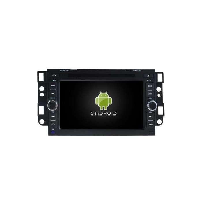 "Radio DVD Navegador GPS Android para Chevrolet (7"")"