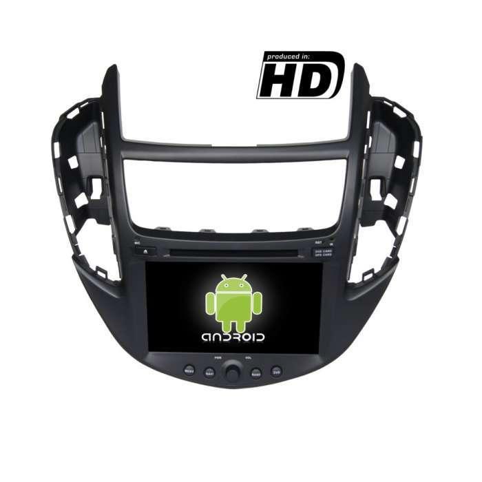 "Radio DVD Navegador GPS Android para Chevrolet Trax (8"")"