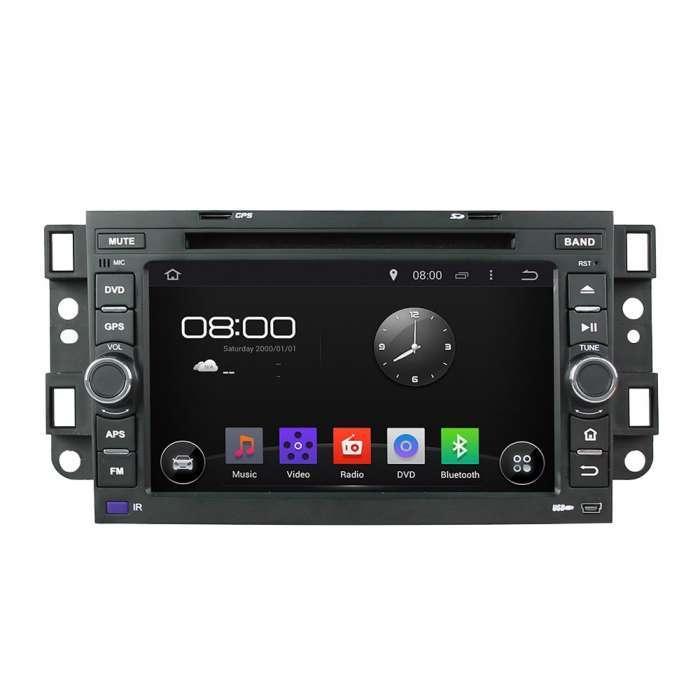 "Radio DVD Navegador GPS Android para Chevrolet Aveo / Epica / Captiva (8"")"