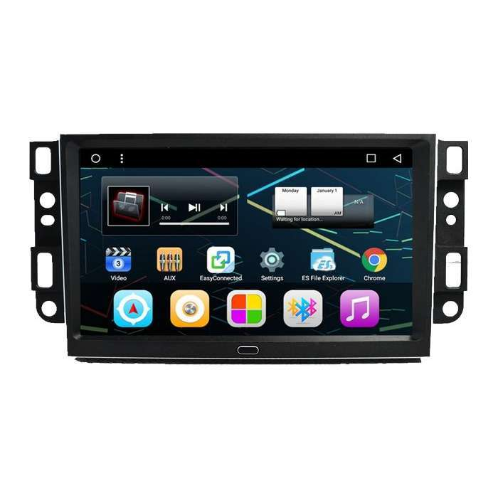 "Radio DVD Navegador GPS Android para Chevrolet Aveo / Epica / Captiva (9"")"