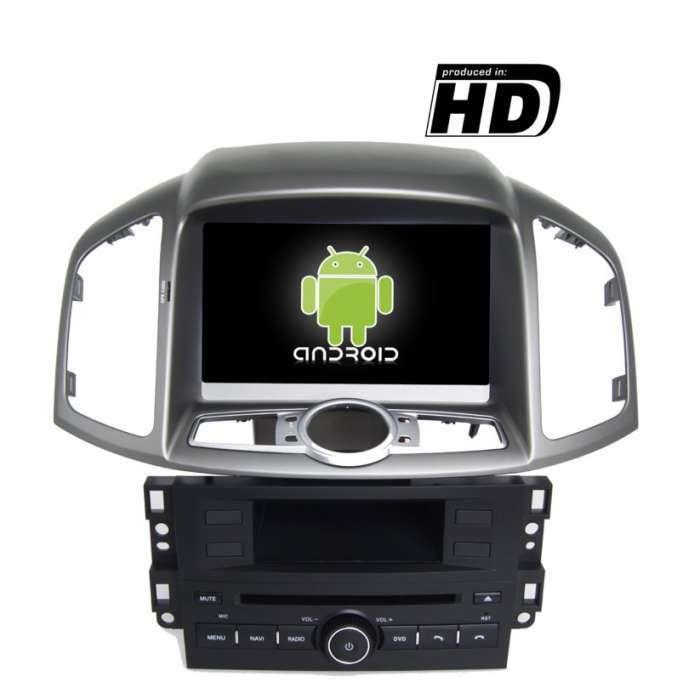"Radio DVD Navegador GPS Android para Chevrolet Captiva / Epica (8"")"