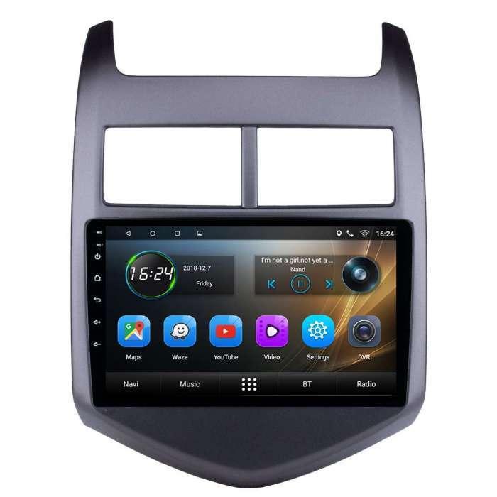 """Radio Navegador GPS Android para Chevrolet Aveo (9"""")"""