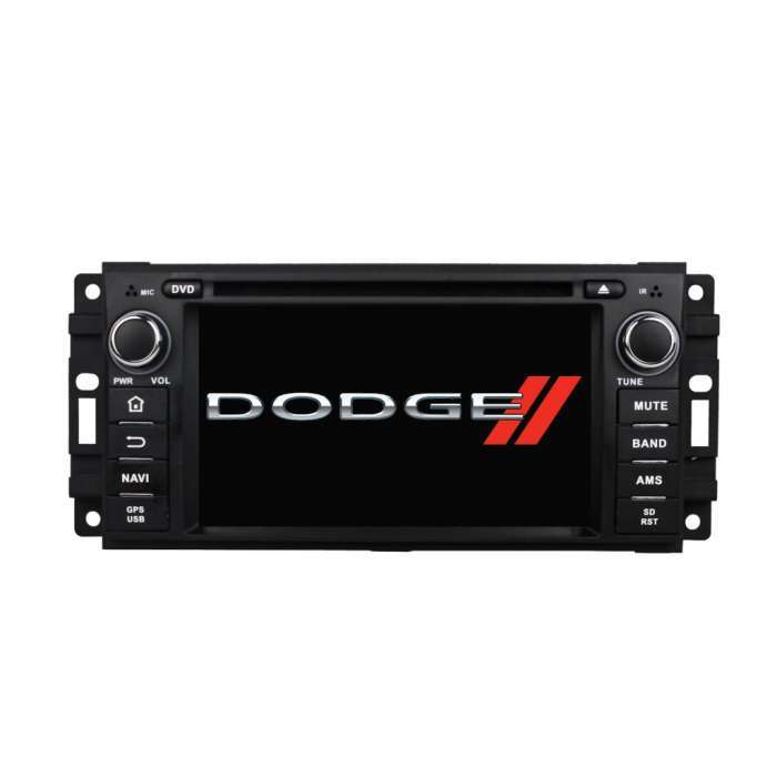 "Radio DVD Navegador GPS Android para Jeep / Chrysler / Dodge (7"")"
