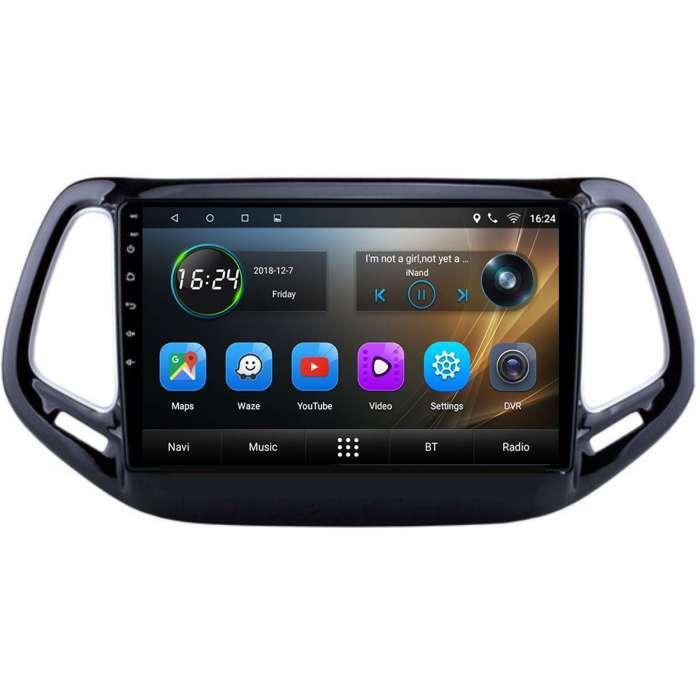 "Radio Navegador GPS Android para Jeep Compass (10,2"")"