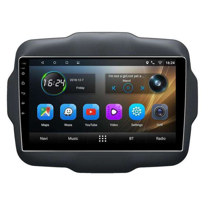 "Radio Navegador GPS Android para Jeep Renegade (10,2"")"