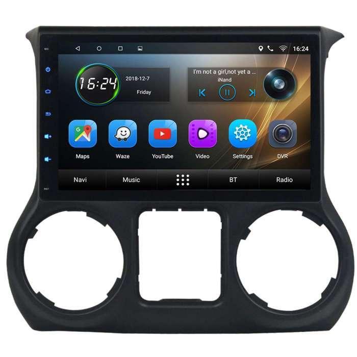 "Radio Navegador GPS Android para Jeep Wrangler (10,2"")"