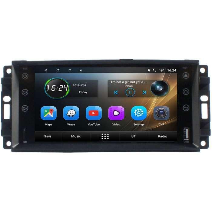 "Radio Navegador GPS Android para Jeep (7"")"