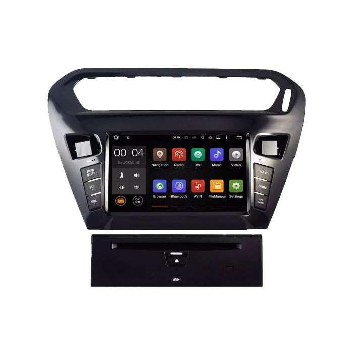 """Radio DVD Navegador GPS Quad Core para Citroen C-Elysee (7"""")"""