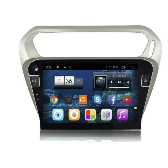 """Radio Monitor Navegador GPS HD Android Puro para Citroen C-Elysee (10,2"""")"""