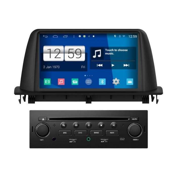 """Radio DVD Navegador Modelo S200 Android para Citroen C3 Picasso / Aircross (7"""")"""