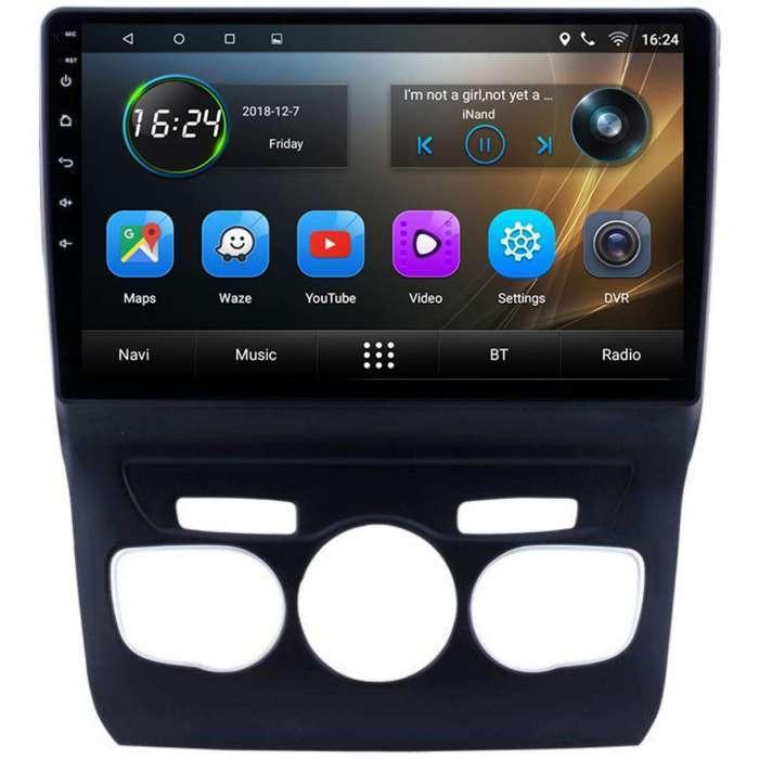 "Radio Navegador GPS Android para Citroen C4 (10,1"")"