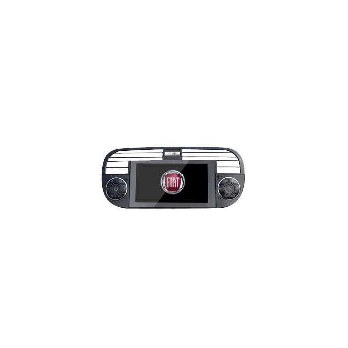 "Radio Navegador GPS Android para Fiat 500 (6,5"")"