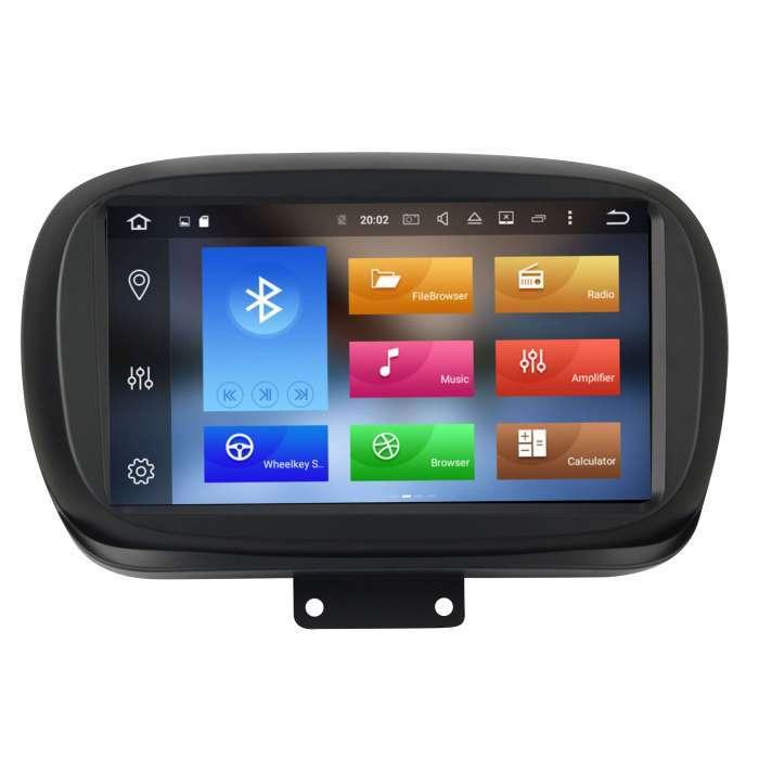 "Radio Navegador GPS Android para Fiat 500 (9"")"