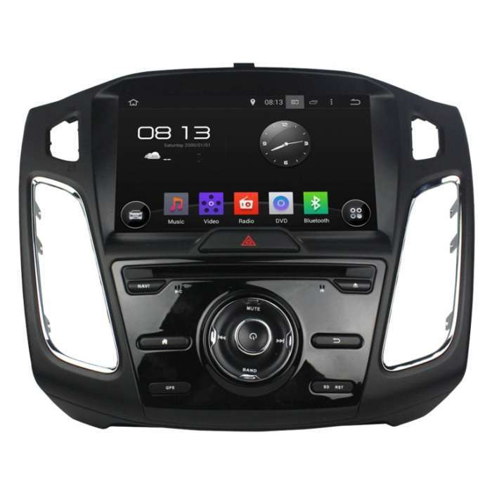 "Radio DVD Navegador GPS Android para Ford Focus / C-Max (8"")"