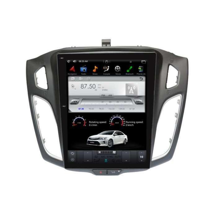 "Radio Navegador Android Tipo Tesla para Ford Focus / C-Max (10,4"")"