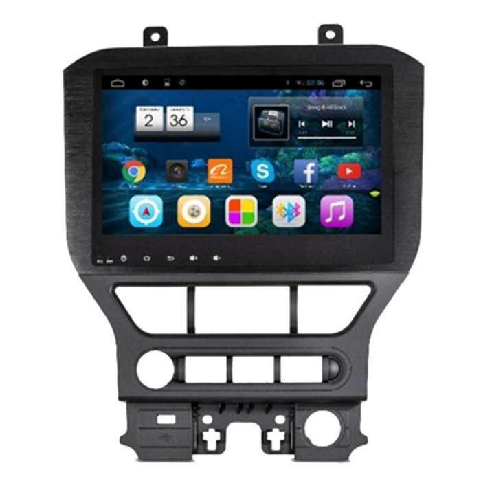 """Radio Monitor Navegador GPS Android para Ford Mustang (10,2"""")"""