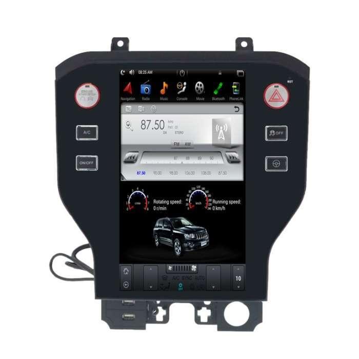 """Radio Navegador Android Tipo Tesla para Ford Mustang (11,8"""")"""
