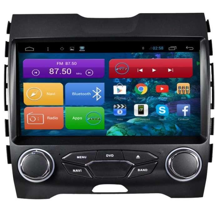 "Radio Navegador DVD GPS Android Puro para Ford Edge (9"")"