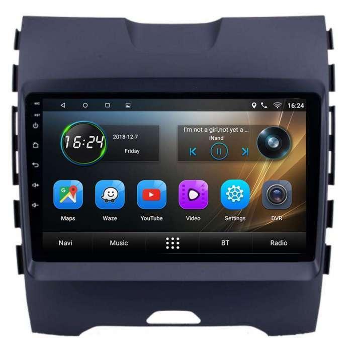 "Radio Navegador GPS Android para Ford Edge (9"")"