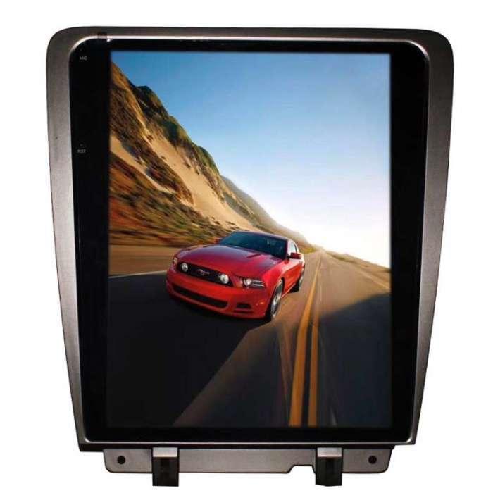 "Radio Navegador Android Tipo Tesla Ford Mustang (12,1"")"