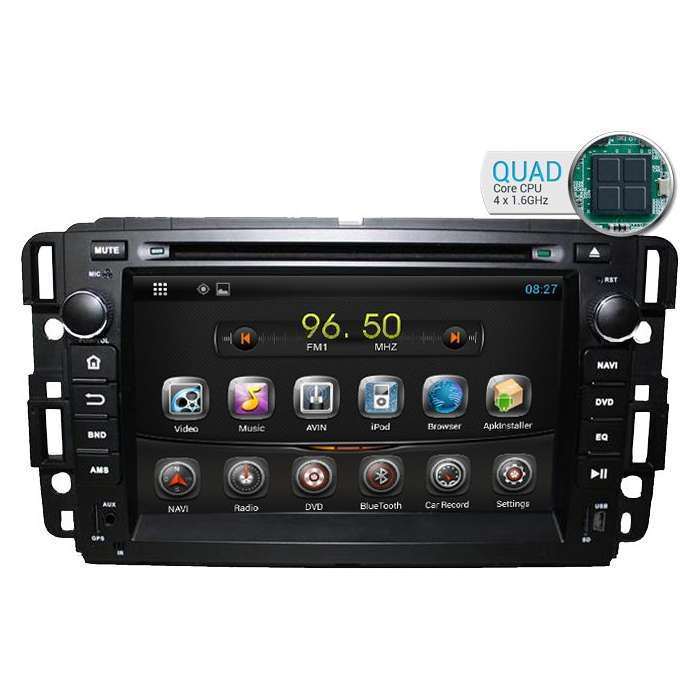"Radio DVD Navegador GPS Android para GMC (7"")"