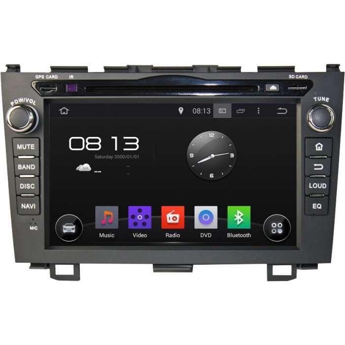"Radio DVD Navegador GPS Android para Honda CRV (8"")"