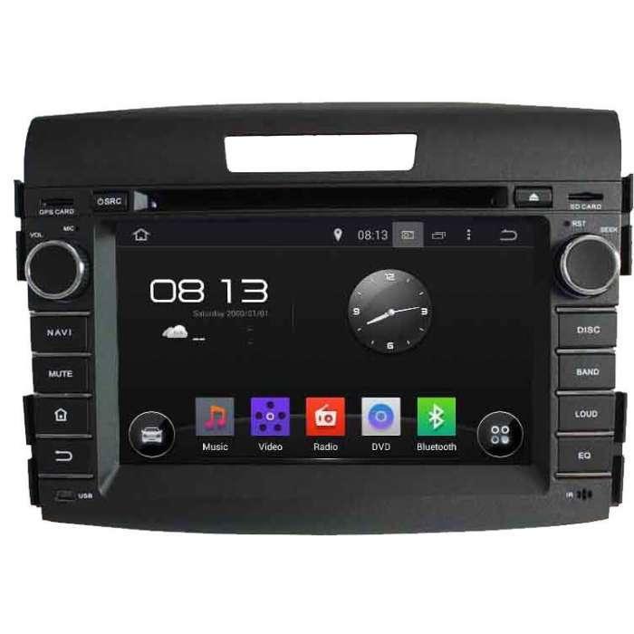 "Radio DVD Navegador GPS Android para Honda CRV (7"")"