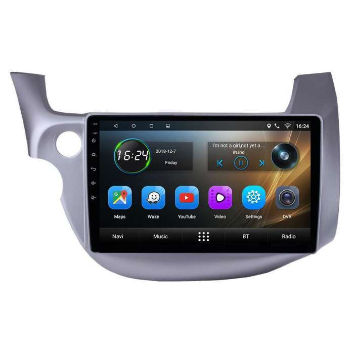 "Radio Navegador GPS Android para Honda Fit / Jazz (10,2"")"