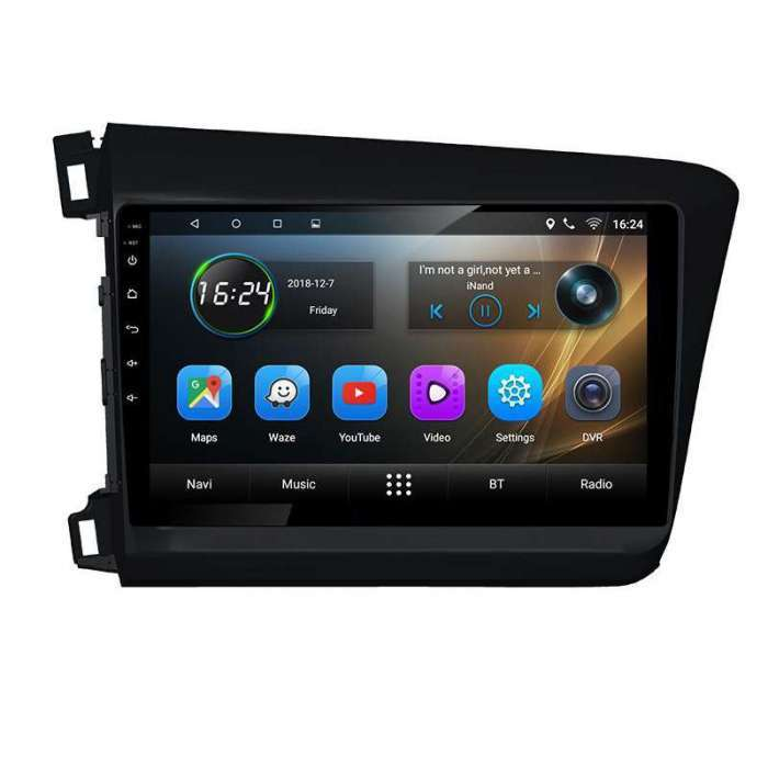 "Radio Navegador GPS Android para Accord Civic (9"")"