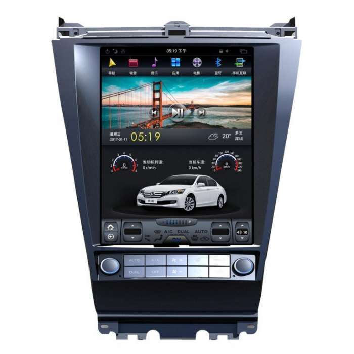 "Radio Navegador Android Tipo Tesla para Honda Accord (12,1"")"