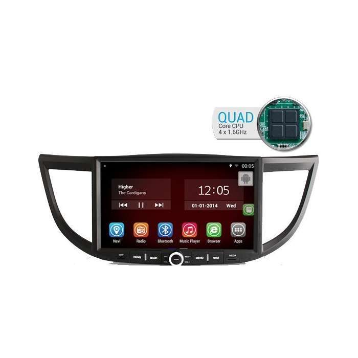 "Radio DVD Navegador GPS Android para Honda CRV (10,1"")"